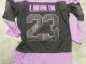 Oskar Lindblom Philadelphia Flyers Signed Replica Cancer  Jersey COA