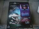 Philadelphia Eagles Superbowl 52 Champs Facsimile Signed 16x20 Canvas