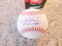 Doug Mientkiewicz Red Sox/Twins/Mets  signed  MLB Baseball COA Inscription