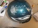 Alex Singleton Philadelphia Eagles Signed FS STAT Helmet COA