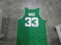 Larry Bird Boston Celtics Signed Replica Jersey JSA