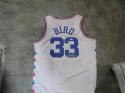 Larry Bird Boston Celtics Signed Replica All Star Jersey JSA