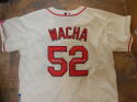 Michael Wacha St Louis Cardinals Signed Replica Jersey Inscription COA XL