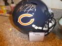 Nick Foles Chicago Bears Signed Full Size Replica Helmet Fanatics