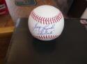 Greg Luzinski Philadelphia Phillies/White Sox Signed OLB Baseball COA  Inscription