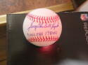 Greg Luzinski Philadelphia Phillies/White Sox Signed MLB Baseball COA 2 inscription