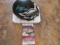 Jason Kelce Philadelphia Eagles Signed  Eclipse Mini Helmet JSA