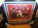 Chase Utley Philadelphia Phillies Signed 11x14 Pride of Phillies Framed Print COA