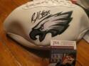 Brandon Graham Philadelphia Eagles Signed Logo Football JSA