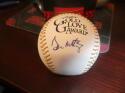 Don Mattingly New York Yankees Signed Gold Glove Baseball JSA