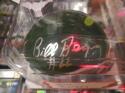Bill Bergey Philadelphia Eagles Signed Throwback Mini Helmet COA